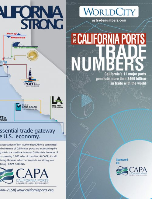 California Ports ( CAPA ) TradeNumbers Foldout 2020
