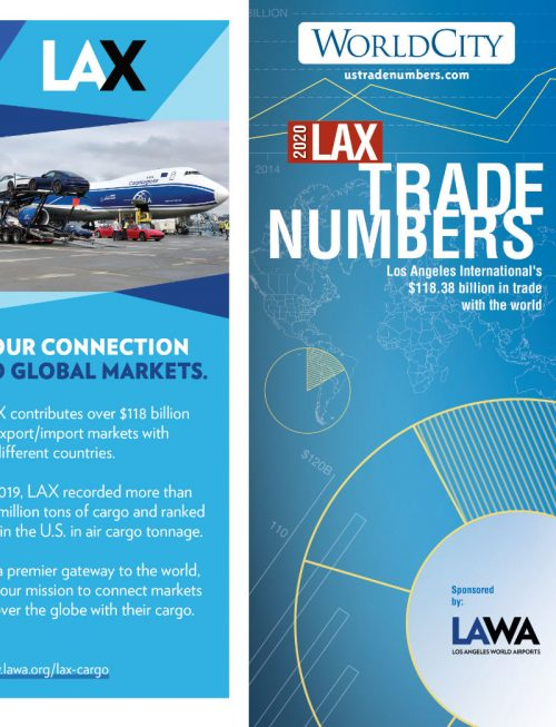 Los Angeles International Airport ( LAX ) TradeNumbers Foldout 2020